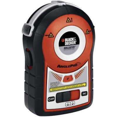 Black & Decker Bullseye 15 Ft. Auto-Leveling Line Laser Level with AnglePro