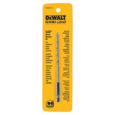 DeWalt 5/32 In. x 5 In. Rotary Masonry Drill Bit