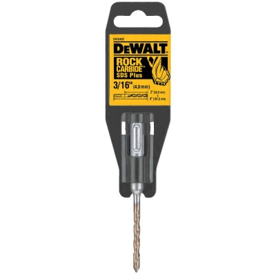 DeWalt SDS-Plus 3/16 In. x 4 In. 2-Cutter Rotary Hammer Drill Bit