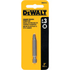 DeWalt Square Recess #3 2 In. Power Screwdriver Bit Image 1