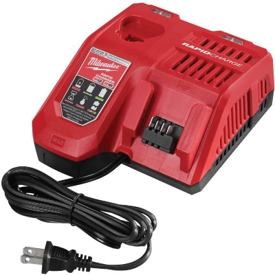 Milwaukee M18/M12 18 Volt and 12 Volt Lithium-Ion Rapid Battery Charger